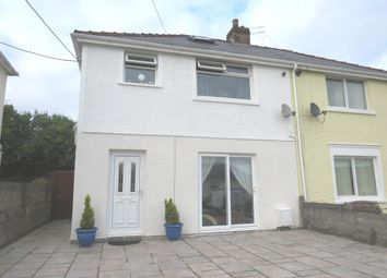 Thumbnail 3 bed semi-detached house for sale in Danygraig Terrace, Llanharan, Pontyclun
