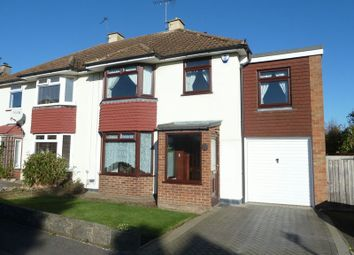 Thumbnail 4 bed semi-detached house for sale in Dale Road, Swanley