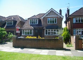 Thumbnail 4 bed detached house for sale in Chase Side, Southgate, London