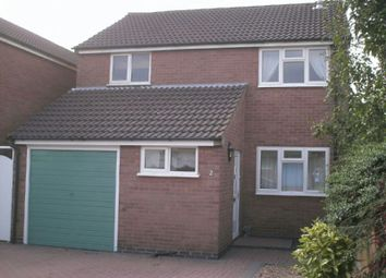 Thumbnail 3 bedroom detached house to rent in Barbara Close, Enderby, Leicester