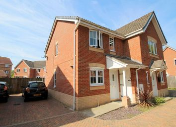 Thumbnail 2 bed semi-detached house for sale in Remus Court, North Hykeham, Lincoln