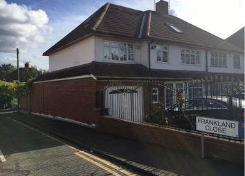 Thumbnail 7 bed terraced house for sale in Frankland Close, Woodford