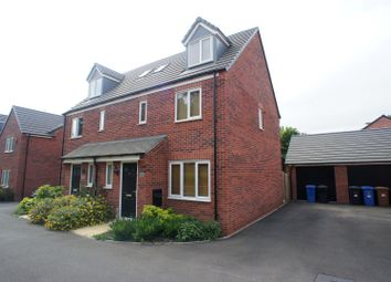 Thumbnail 4 bed semi-detached house to rent in Merton Drive, Derby