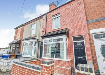 Thumbnail 3 bed terraced house for sale in Leicester Street, Burton-On-Trent, Staffordshire