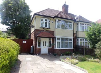 Thumbnail 3 bed semi-detached house for sale in Park Road South, Prenton