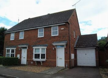 Thumbnail 3 bedroom semi-detached house to rent in Pyke Way, Crick, Northants