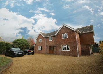 Thumbnail 5 bed detached house to rent in Church Hill, Holbrook, Ipswich