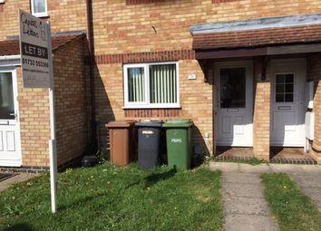 Thumbnail 2 bedroom terraced house to rent in Lansdowne Walk, Peterborough