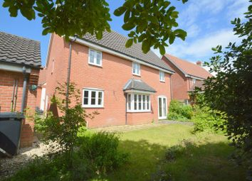 Thumbnail 4 bed detached house to rent in Peacock Close, Easton, Norwich