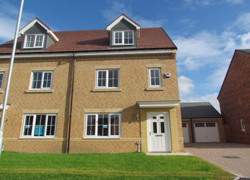 Thumbnail 4 bed semi-detached house for sale in Jefferson Grove, Seaton Delaval, Whitley Bay