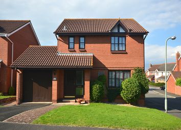 Thumbnail 3 bed detached house for sale in Penny Close, Exminster, Near Exeter