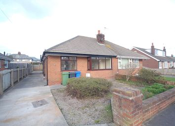 Thumbnail 2 bed semi-detached bungalow to rent in Ryecroft Avenue, Hambleton, Poulton-Le-Fylde