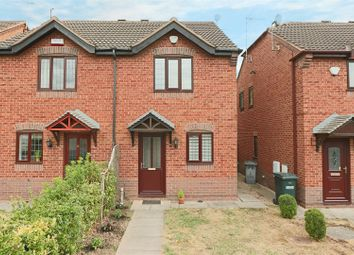 Thumbnail 2 bed semi-detached house for sale in Verona Avenue, Colwick, Nottingham