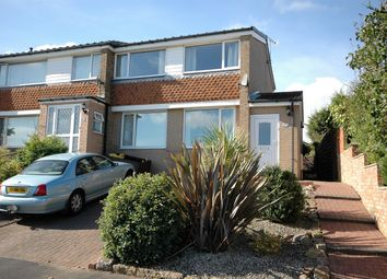 Thumbnail 3 bed semi-detached house for sale in Pannal Close, Whitby