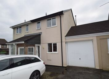 Thumbnail 2 bed semi-detached house to rent in Douglas Close, Roche, St Austell, Cornwall