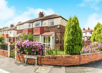 Thumbnail 3 bed semi-detached house for sale in Wicklow Avenue, Cheadle Heath, Stockport, Cheshire