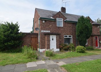 Thumbnail 2 bed semi-detached house to rent in Plane Tree Road, Bebington, Wirral, Merseyside