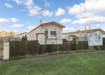 Thumbnail 2 bed mobile/park home for sale in The Grove, Warboys Road, Old Hurst, Huntingdon, Cambridgeshire