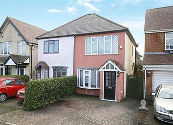 Thumbnail 3 bed semi-detached house for sale in Upland Road, Thornwood, Epping