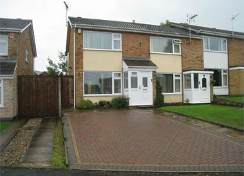 Thumbnail 2 bed end terrace house to rent in Beverley Drive, Broughton Astley, Leicester