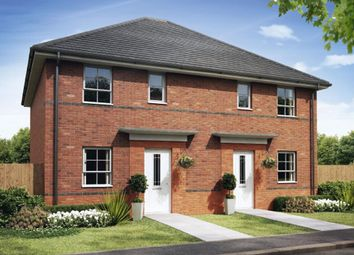 "Thumbnail 3 bed semi-detached house for sale in ""Folkestone"" at Martins Way, Ledbury"