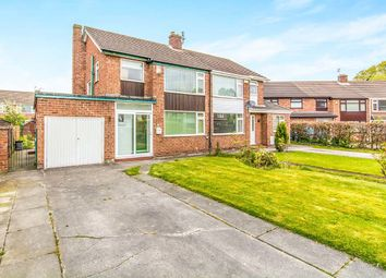 Thumbnail 3 bed semi-detached house for sale in Longnor Road, Heald Green, Cheadle