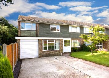 Thumbnail 5 bed semi-detached house for sale in Waterlea, Furnace Green, Crawley, West Sussex.