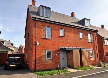Thumbnail 4 bed semi-detached house for sale in Peter Churchill Lane, Ashford, Kent