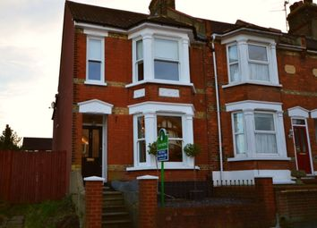 Thumbnail 3 bed terraced house for sale in Kings Avenue, Borstal, Rochester