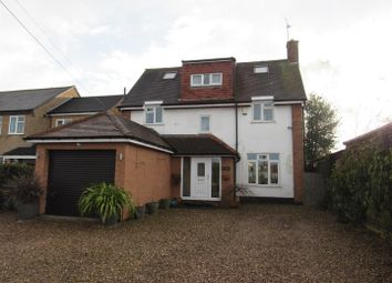 Thumbnail 4 bed detached house for sale in Blaby Road, Enderby, Leicester