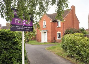 Thumbnail 4 bed detached house for sale in Newlyn Close, Grimsby