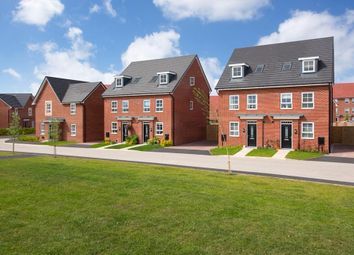 """Thumbnail 4 bed semi-detached house for sale in """"Helmsley"""" at Texan Close, Warton, Preston"""
