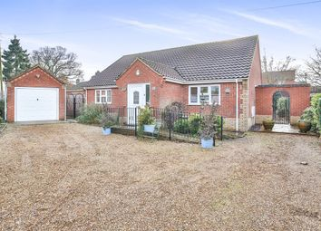 Thumbnail 3 bedroom detached bungalow for sale in Stone Road, Toftwood, Dereham