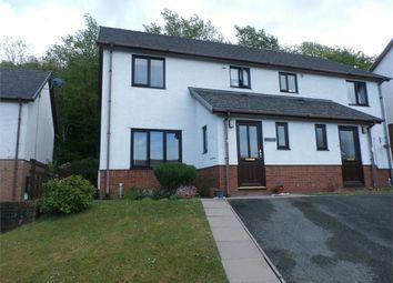 Thumbnail 3 bed semi-detached house for sale in 3 Maes Crugiau, Rhydyfelin, Aberystwyth, Ceredigion