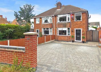 Thumbnail 3 bed semi-detached house for sale in Station Road, Draycott, Derby