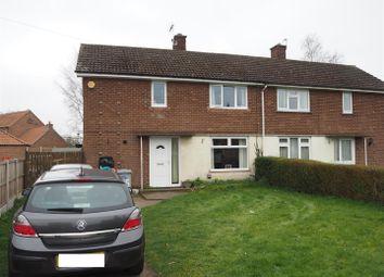 Thumbnail 3 bedroom semi-detached house for sale in Braemer Road, Collingham, Newark