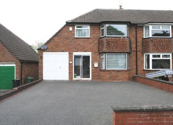 Thumbnail 3 bed semi-detached house for sale in Mayfield Road, Hasbury, Halesowen