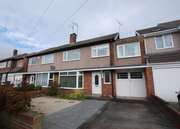 Thumbnail 5 bed semi-detached house for sale in Holystone Avenue, Gosforth, Newcastle Upon Tyne