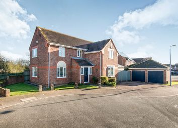 Thumbnail 4 bed detached house for sale in St Marys Grove, Sprowston, Norwich