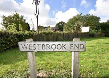 Thumbnail 5 bed cottage for sale in Westbrook End, Newton Longville, Milton Keynes