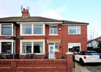 Thumbnail 4 bed semi-detached house for sale in Lincoln Avenue, Fleetwood
