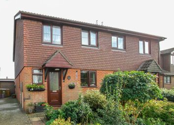 Thumbnail 3 bed semi-detached house for sale in Cricketers Close, Hawkinge, Folkestone