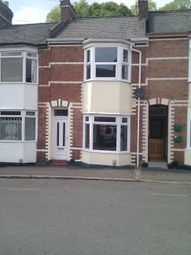 Thumbnail 3 bed terraced house to rent in Temple Road, St Leonards Exeter