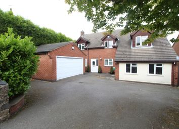 Thumbnail 4 bed detached house for sale in Main Street, Bagworth, Coalville