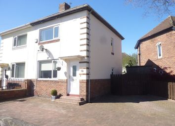 Thumbnail 2 bed semi-detached house for sale in Blyth Street, Seaton Delaval, Whitley Bay