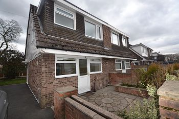 Thumbnail 3 bed semi-detached house to rent in Haddon Close, Macclesfield, Cheshire