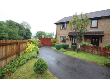 Thumbnail 3 bed semi-detached house for sale in Willow Close, Ebbw Vale
