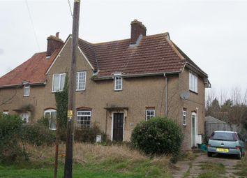 Thumbnail 3 bed semi-detached house for sale in Bedford Road, Cranfield, Bedford