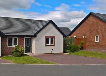Thumbnail 2 bed semi-detached bungalow for sale in Oak Avenue, Longtown, Carlisle