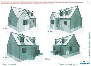 Thumbnail 3 bed detached house for sale in Spalding Common, Spalding, Lincolnshire